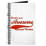 World's Most Awesome Social worker Journal