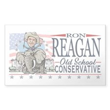 Ron Reagan GOP Elephant Decal