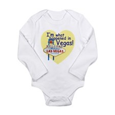 I'm What Happened in Vegas Long Sleeve Infant Body