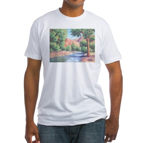 Summer Canyon Fitted T-Shirt