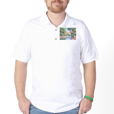 Summer Canyon Golf Shirt