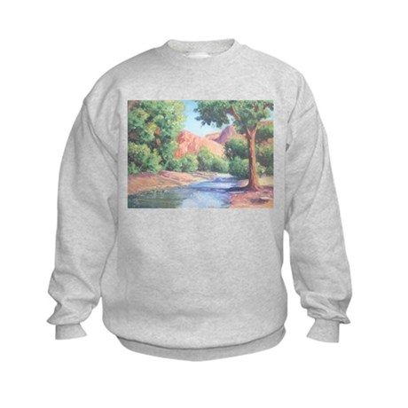 Summer Canyon Kids Sweatshirt