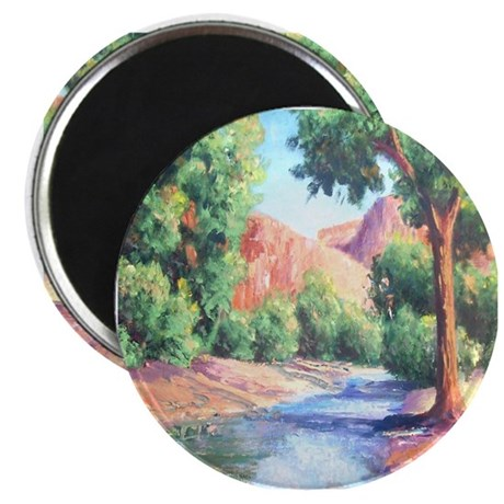"Summer Canyon 2.25"" Magnet (10 pack)"
