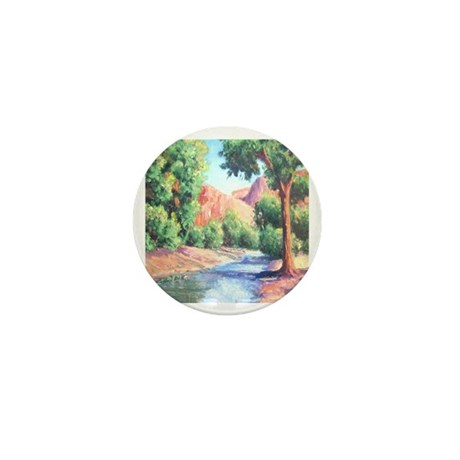 Summer Canyon Mini Button