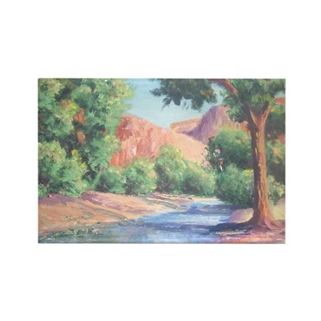Summer Canyon Rectangle Magnet (10 pack)