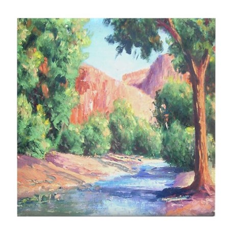 Summer Canyon Tile Coaster