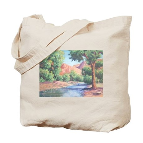Summer Canyon Tote Bag