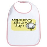 Crawl Walk Golf Bib