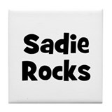 Sadie Rocks Tile Coaster