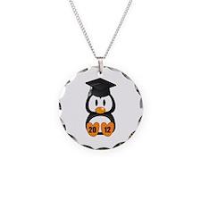 Custom Gradution Penguin Necklace