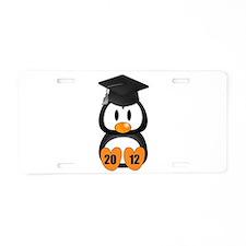 Custom Gradution Penguin Aluminum License Plate