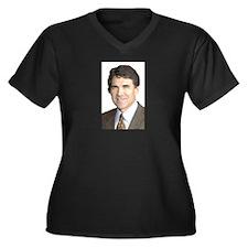 Rick Perry Women's Plus Size V-Neck Dark T-Shirt