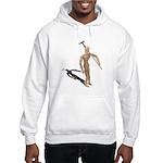 Carrying Gardening Hoe Hooded Sweatshirt