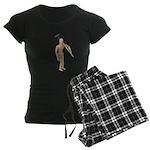 Carrying Gardening Hoe Women's Dark Pajamas