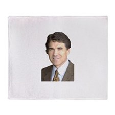 Rick Perry Throw Blanket