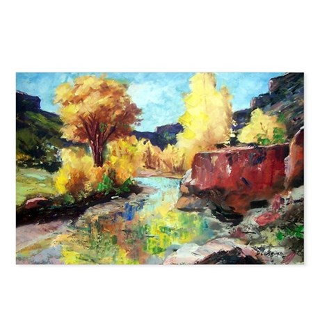 Autumn Canyon Postcards (Package of 8)