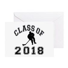 Class Of 2018 Hockey Greeting Card