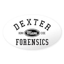 Dexter Forensics Decal