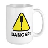 Danger, Beer Supply Low! Mug