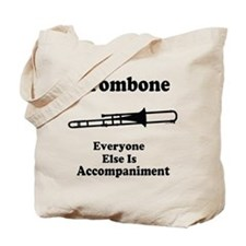 Trombone Gift Music Joke Tote Bag