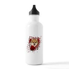 Valentines - Key to My Heart Pomeranian Water Bottle