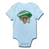 Diamonds Girl's Best Friend Onesie