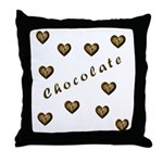 Chocolate Cookie Gift Throw Pillow
