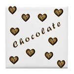 Chocolate Cookie Gift Tile Coaster