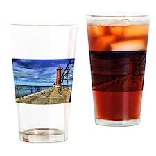 Unique Michigan Drinking Glass