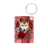 Valentines - Key to My Heart Dingo Aluminum Photo