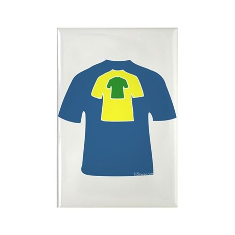 Bright T-shirts Rectangle Magnet