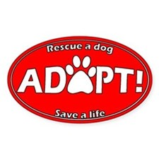 Adopt Sticker (Red)