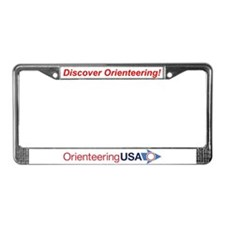 OUSA License Plate Frame