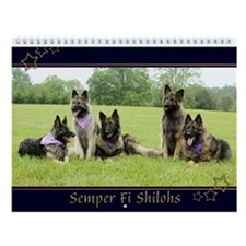 Semper Fi Shilohs Wall Calendar :2012
