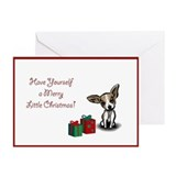 Chihuahua Christmas Cards (Pk of 10)