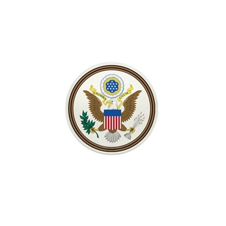 US Great Seal - Obverse Mini Button (10 pack)