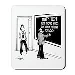 Math 101 Mousepad