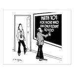 Math 101 Small Poster
