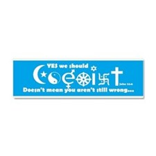 Coexist Car Magnet 10 x 3