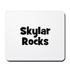 Skylar Rocks Mousepad