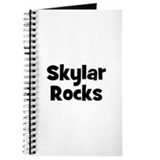 Skylar Rocks Journal