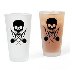 Music Pirate Drinking Glass