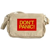 DON'T PANIC Messenger Bag