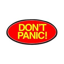 DON'T PANIC Patches