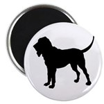 Bloodhound Silhouette Magnet