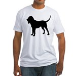 Bloodhound Silhouette Fitted T-Shirt