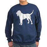 Bloodhound Silhouette Sweatshirt (dark)