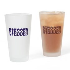 Blessed Drinking Glass