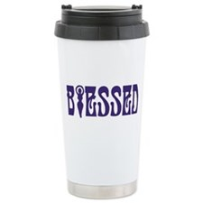 Blessed Ceramic Travel Mug