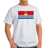 Flag of Kiribati Ash Grey T-Shirt